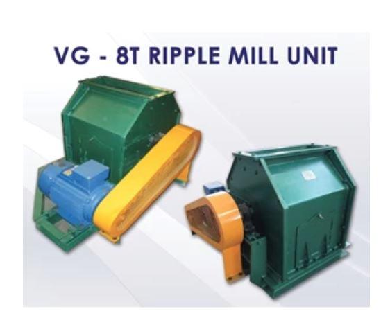 Jual Mesin Ripple Mill VG 8T